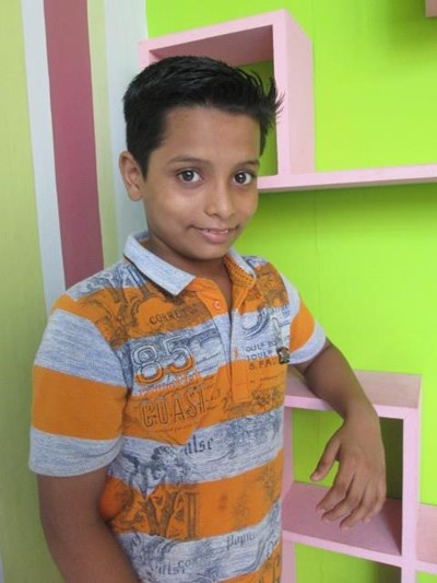 Help Piyanshu by becoming a child sponsor. Sponsoring a child is a rewarding and heartwarming experience.