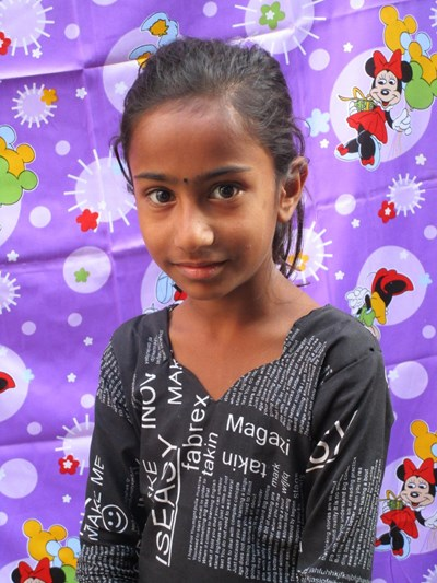 Help Ishrat by becoming a child sponsor. Sponsoring a child is a rewarding and heartwarming experience.