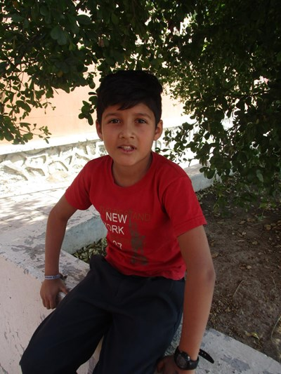Help Santiago Michel by becoming a child sponsor. Sponsoring a child is a rewarding and heartwarming experience.