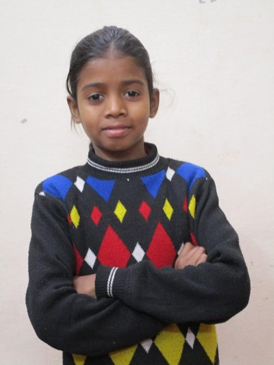 Help Pooja by becoming a child sponsor. Sponsoring a child is a rewarding and heartwarming experience.