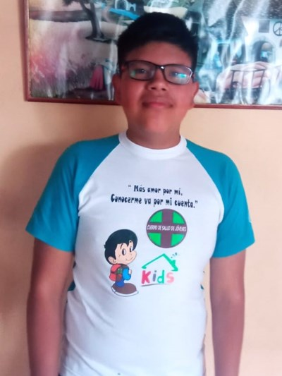 Help Jorge Armando by becoming a child sponsor. Sponsoring a child is a rewarding and heartwarming experience.