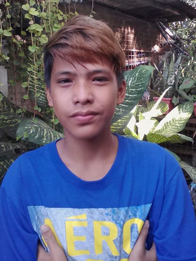 Help John Benjie R. by becoming a child sponsor. Sponsoring a child is a rewarding and heartwarming experience.