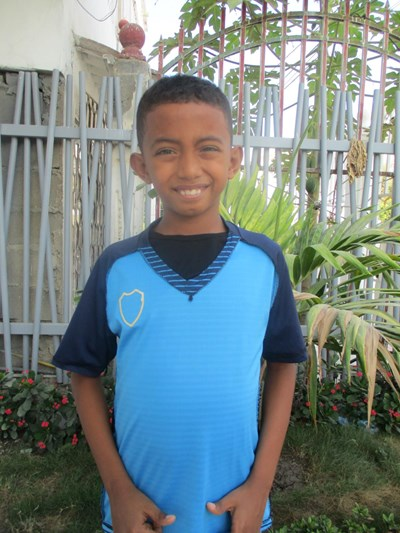 Help Juan David by becoming a child sponsor. Sponsoring a child is a rewarding and heartwarming experience.