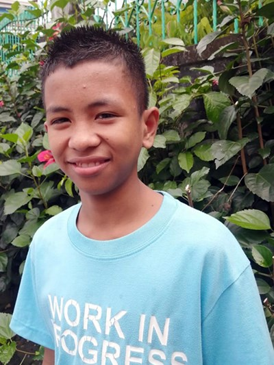 Help Carlos Jr. B. by becoming a child sponsor. Sponsoring a child is a rewarding and heartwarming experience.