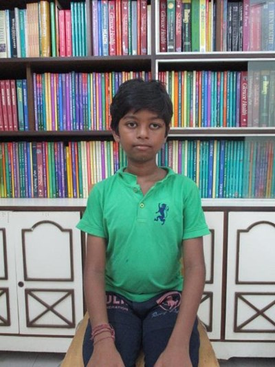 Help Vinit by becoming a child sponsor. Sponsoring a child is a rewarding and heartwarming experience.