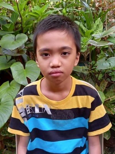 Help James Reyniel A. by becoming a child sponsor. Sponsoring a child is a rewarding and heartwarming experience.