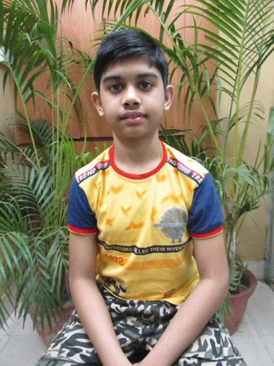 Help Shreyans by becoming a child sponsor. Sponsoring a child is a rewarding and heartwarming experience.