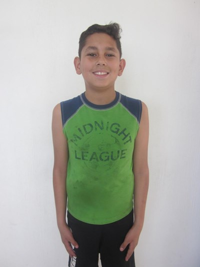 Help Jesús by becoming a child sponsor. Sponsoring a child is a rewarding and heartwarming experience.