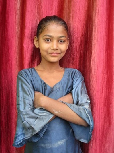 Help Shazia by becoming a child sponsor. Sponsoring a child is a rewarding and heartwarming experience.