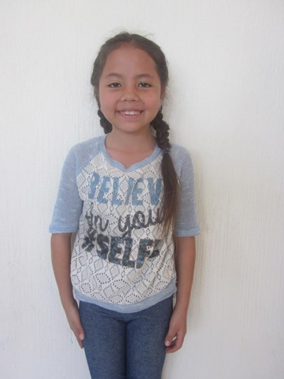 Help Alondra Rubi by becoming a child sponsor. Sponsoring a child is a rewarding and heartwarming experience.