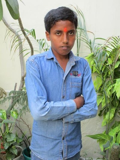 Help Vipin by becoming a child sponsor. Sponsoring a child is a rewarding and heartwarming experience.