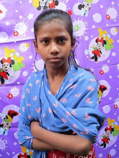 Help Nisrath by becoming a child sponsor. Sponsoring a child is a rewarding and heartwarming experience.