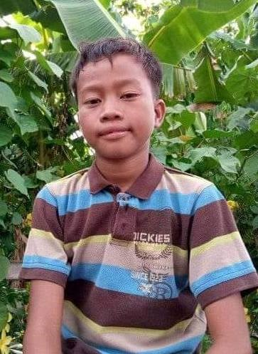 Help Aejay Singson by becoming a child sponsor. Sponsoring a child is a rewarding and heartwarming experience.