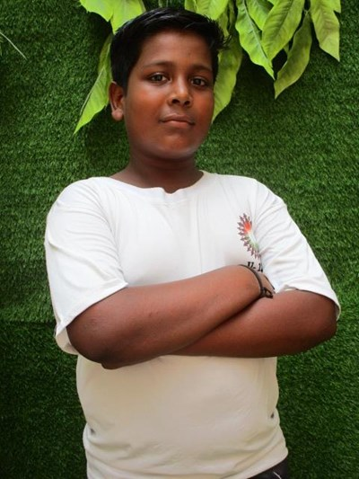 Help Vishal by becoming a child sponsor. Sponsoring a child is a rewarding and heartwarming experience.