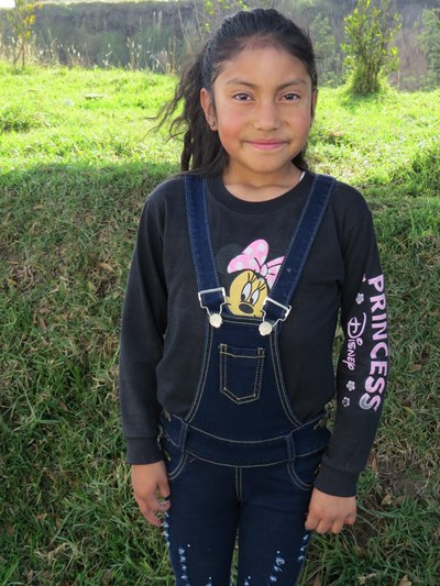 Help Daniela Shantal by becoming a child sponsor. Sponsoring a child is a rewarding and heartwarming experience.