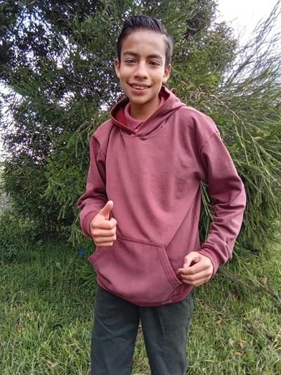 Ayude a Nestor Humberto apadrinándole hoy. El apadrinamiento es una experiencia hermosa y gratificante.