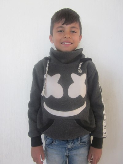Help Erick Santiago by becoming a child sponsor. Sponsoring a child is a rewarding and heartwarming experience.