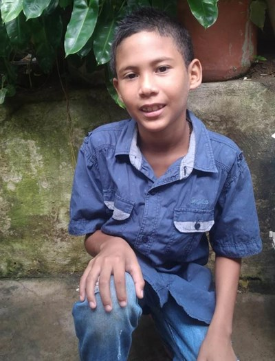Help Jean Paul  Savid by becoming a child sponsor. Sponsoring a child is a rewarding and heartwarming experience.