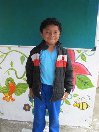 Help Steven Ariel by becoming a child sponsor. Sponsoring a child is a rewarding and heartwarming experience.