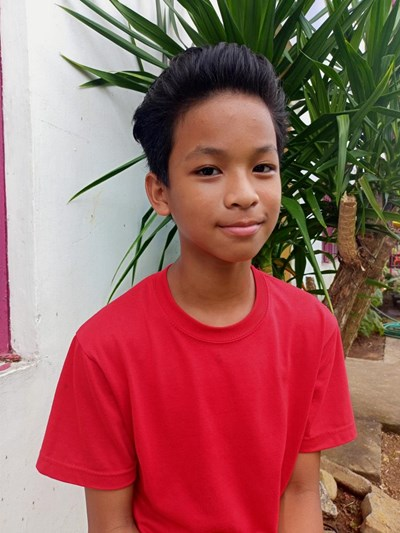 Help Ian Charles A. by becoming a child sponsor. Sponsoring a child is a rewarding and heartwarming experience.
