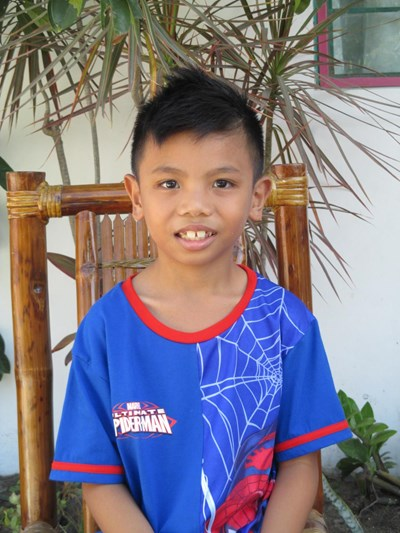 Help James Henrick  C. by becoming a child sponsor. Sponsoring a child is a rewarding and heartwarming experience.