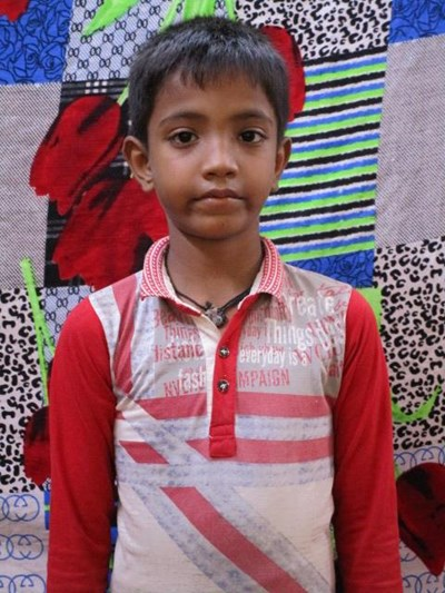 Help Rihan by becoming a child sponsor. Sponsoring a child is a rewarding and heartwarming experience.