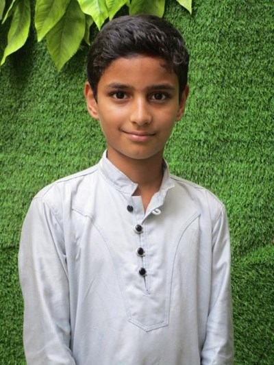 Help Aamir by becoming a child sponsor. Sponsoring a child is a rewarding and heartwarming experience.