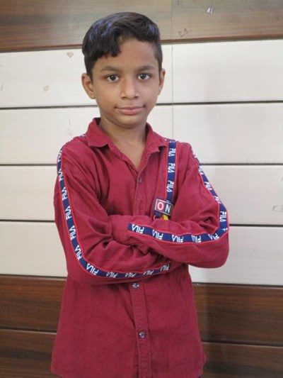 Help Arbaaz by becoming a child sponsor. Sponsoring a child is a rewarding and heartwarming experience.