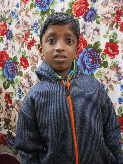 Help Shahil by becoming a child sponsor. Sponsoring a child is a rewarding and heartwarming experience.