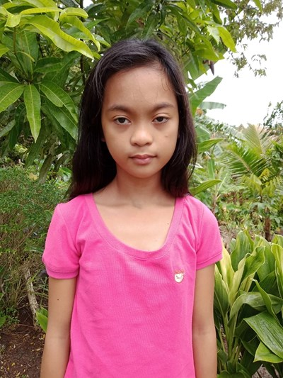 Help Sarah Jane A. by becoming a child sponsor. Sponsoring a child is a rewarding and heartwarming experience.