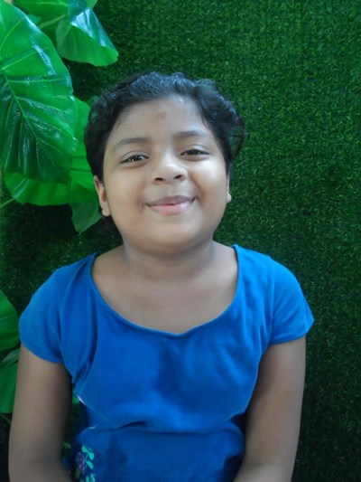 Help Alinson Fabiola by becoming a child sponsor. Sponsoring a child is a rewarding and heartwarming experience.