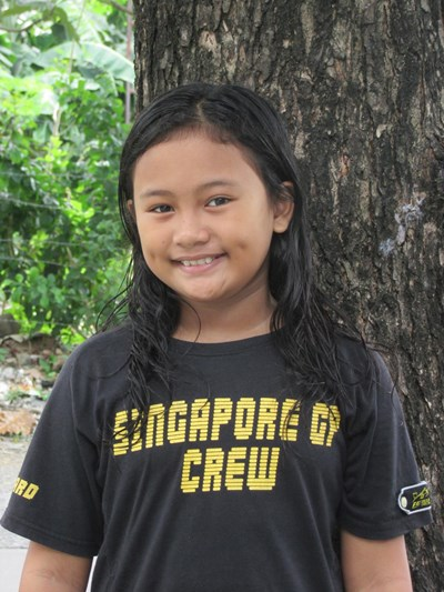 Help Erika Faye B. by becoming a child sponsor. Sponsoring a child is a rewarding and heartwarming experience.
