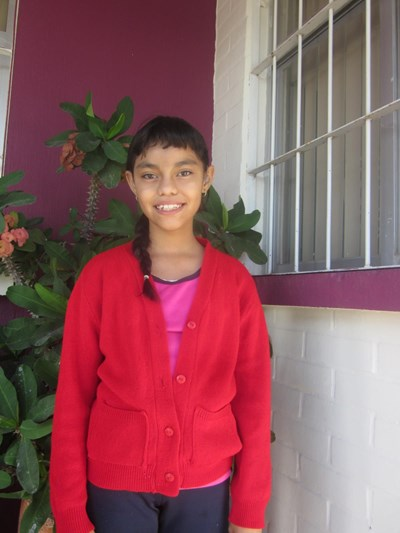 Help Margarita Sarahí by becoming a child sponsor. Sponsoring a child is a rewarding and heartwarming experience.