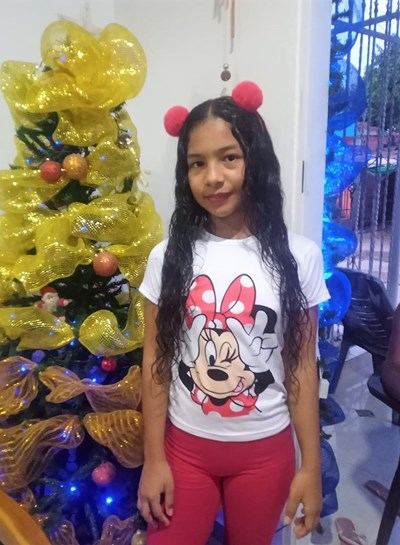 Help Yeilis Nicol by becoming a child sponsor. Sponsoring a child is a rewarding and heartwarming experience.