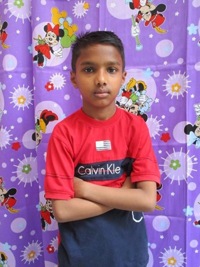 Help Aahan by becoming a child sponsor. Sponsoring a child is a rewarding and heartwarming experience.