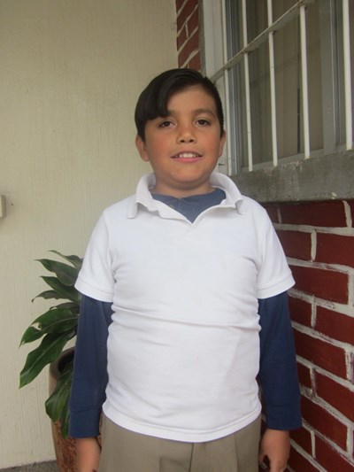 Help César Adrián by becoming a child sponsor. Sponsoring a child is a rewarding and heartwarming experience.