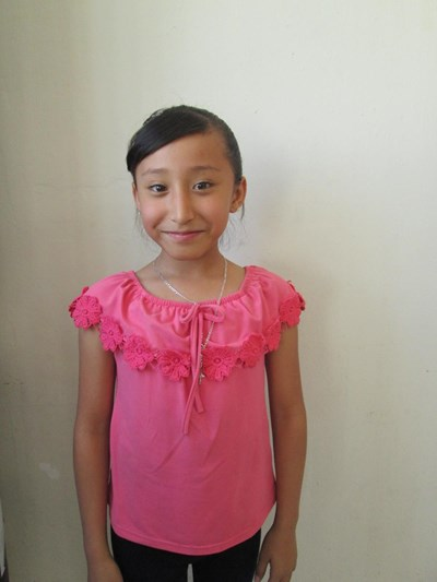 Help Karen Estefanía by becoming a child sponsor. Sponsoring a child is a rewarding and heartwarming experience.