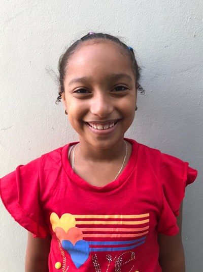 Help Arianny Lisset by becoming a child sponsor. Sponsoring a child is a rewarding and heartwarming experience.