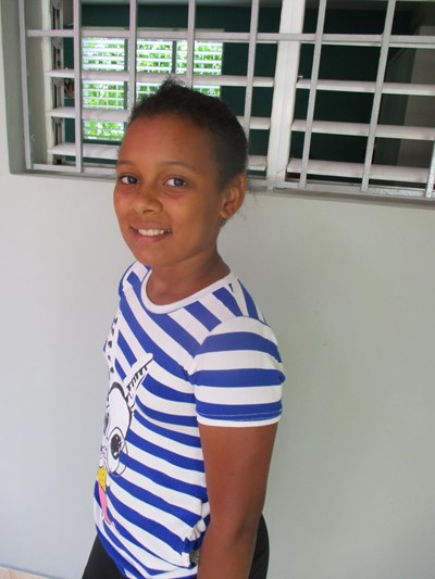 Help Radanyali Franchely by becoming a child sponsor. Sponsoring a child is a rewarding and heartwarming experience.