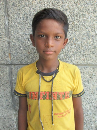 Help Ajay by becoming a child sponsor. Sponsoring a child is a rewarding and heartwarming experience.
