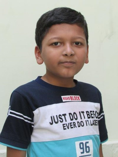 Help Farhan by becoming a child sponsor. Sponsoring a child is a rewarding and heartwarming experience.