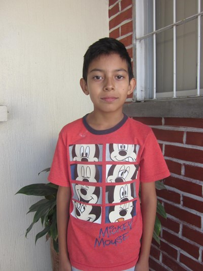Help Ángel Israel by becoming a child sponsor. Sponsoring a child is a rewarding and heartwarming experience.
