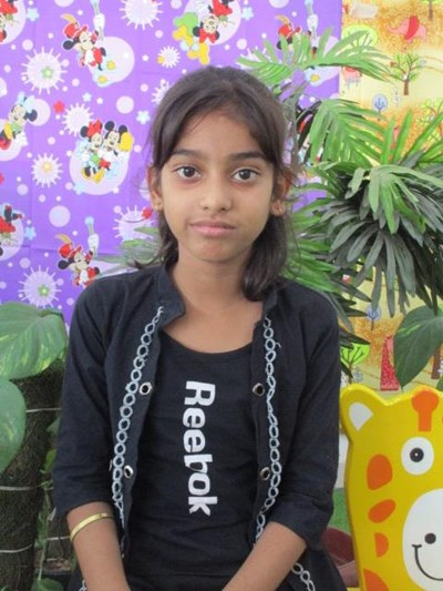 Help Varsha by becoming a child sponsor. Sponsoring a child is a rewarding and heartwarming experience.