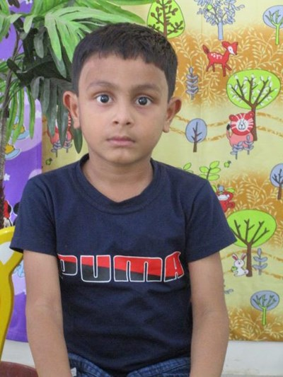 Help Rohan Kumar by becoming a child sponsor. Sponsoring a child is a rewarding and heartwarming experience.