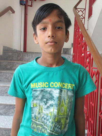 Help Anubhav by becoming a child sponsor. Sponsoring a child is a rewarding and heartwarming experience.