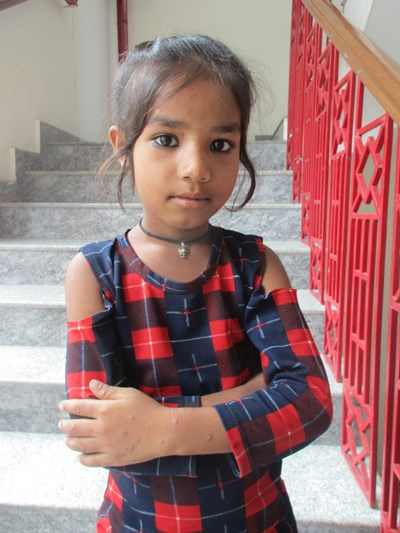 Help Annu by becoming a child sponsor. Sponsoring a child is a rewarding and heartwarming experience.