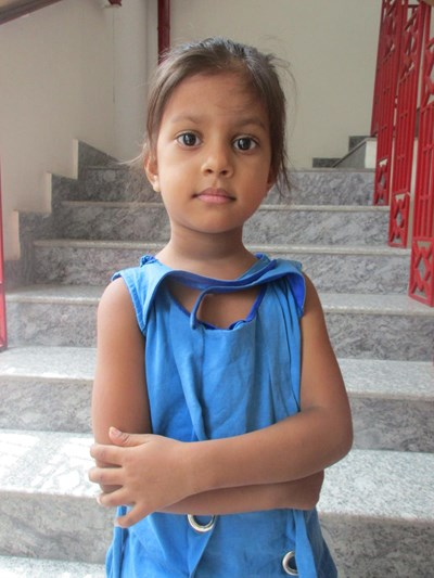 Help Niharika by becoming a child sponsor. Sponsoring a child is a rewarding and heartwarming experience.
