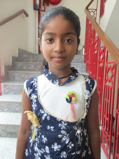 Help Ridhima by becoming a child sponsor. Sponsoring a child is a rewarding and heartwarming experience.