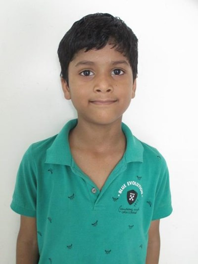 Help Santosh by becoming a child sponsor. Sponsoring a child is a rewarding and heartwarming experience.