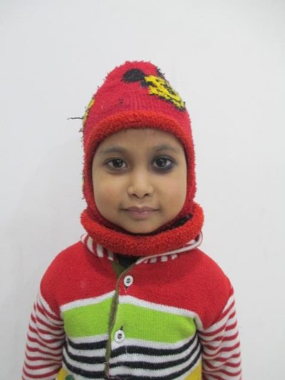 Help Sonakshi by becoming a child sponsor. Sponsoring a child is a rewarding and heartwarming experience.